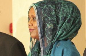 Somali Foreign Minister Fawzia Yusuf Adam