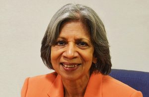Millie Banerjee takes over on a permanent basis as chair of the college
