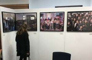 UK-Pakistan 70th Anniversary photo exhibition launches at the Luton Central Library