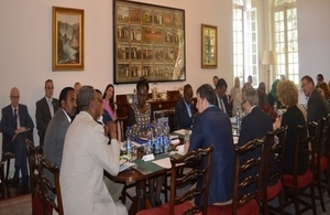 A roundtable of policymakers and experts at the British Embassy, Addis Ababa