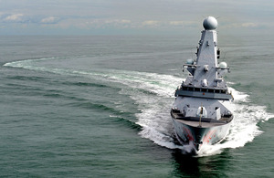 Type 45 destroyer (library image) [Picture: Leading Airman (Photographer) Nicky Wilson, Crown copyright]