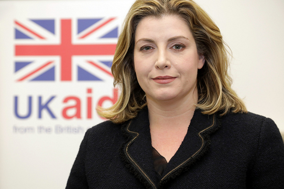 International Development Secretary Penny Mordaunt. Russell Watkins/DFID