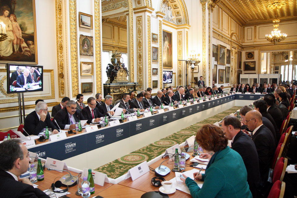 Ministers gather for the fifth Friends of Yemen meeting in London today.