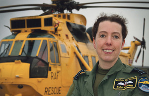 Group Captain Sara Mackmin, RAF Search and Rescue Force Commander [Picture: Senior Aircraftwoman Faye Storer, Crown copyright]