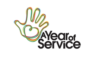 A Year of Service logo