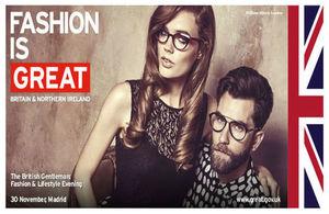 Moda hombre británica expone en Madrid