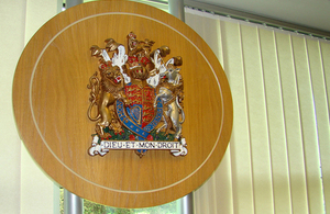 Office of the Traffic Commissioners coat of arms.