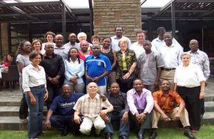 Course participants, Namibia 2012. Picture: Effective Health Care Research Consortium