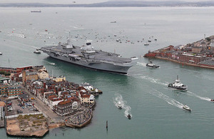 HMS Queen Elizabeth will be formally commissioned into the Royal Navy by Her Majesty the Queen next week.