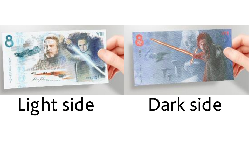 Star Wars note