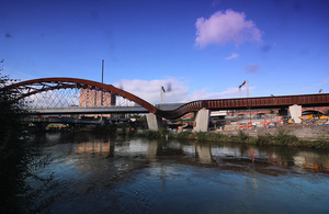 Ordsall Chord, one of more than 4,500 projects completed since 2010.