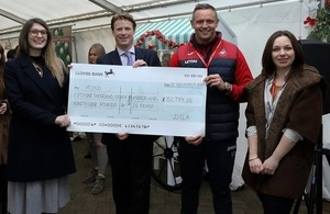 DVLA staff raise over £50,000 for charity Mind
