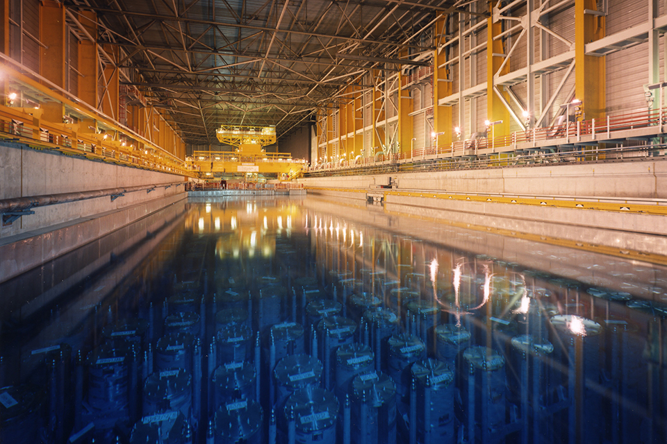 THORP cooling ponds