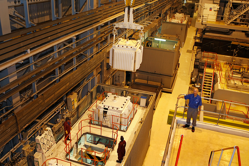 Fuel Handling Plant at Sellafield