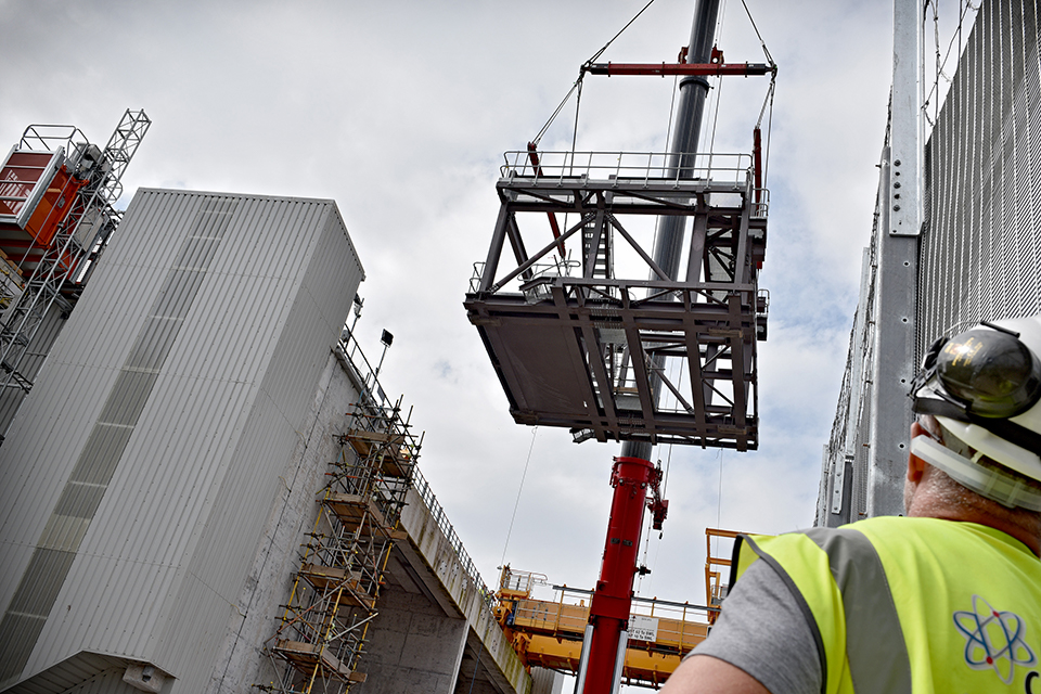 Retrieval of waste at Sellafield's Pile Fuel Cladding Silo
