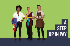 National Minimum Wage image from the campaign.