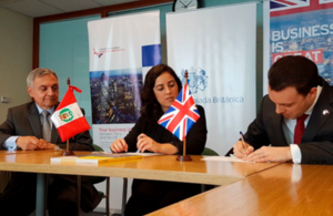 The British Embassy Lima and the British-Peruvian Chamber of Commerce signed a Memorandum of Understanding (MOU) with OBG, in support of its forthcoming 2018 report.