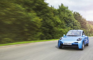 The Rasa - electric car made by Riversimple