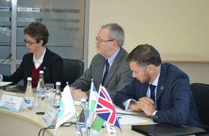 The UK National School of Government International Experts visited Uzbekistan