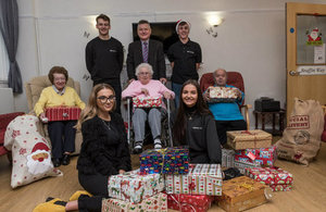 Sellafield Ltd Apprentice Council Shoe Box Christmas Appeal