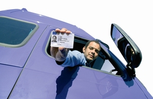 Driver CPC qualification card