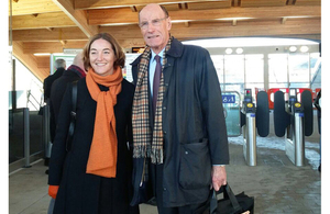 Sir John Armitt, Chair of the Thames Estuary 2050 Growth Commission, and Professor Sadie Morgan, Deputy Chair