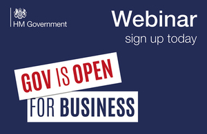 Open for Business Webinar