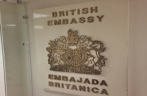 British Embassy for Honduras