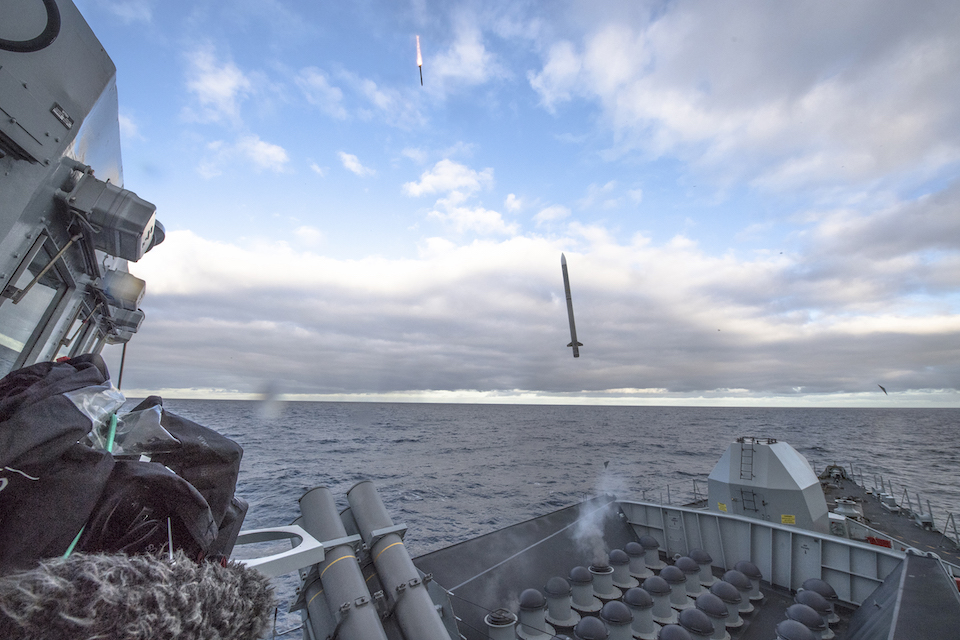 The firing trials included two missiles being fired at the same time.