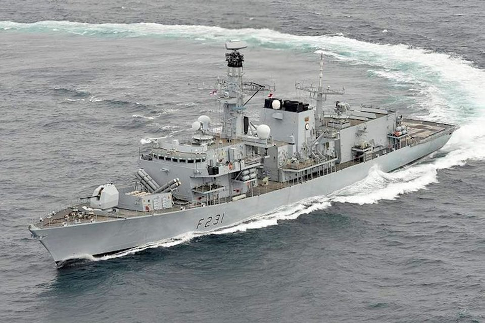 HMS Argyll will deploy to Japan next year.