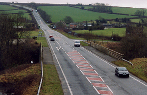 Road in Dorset.