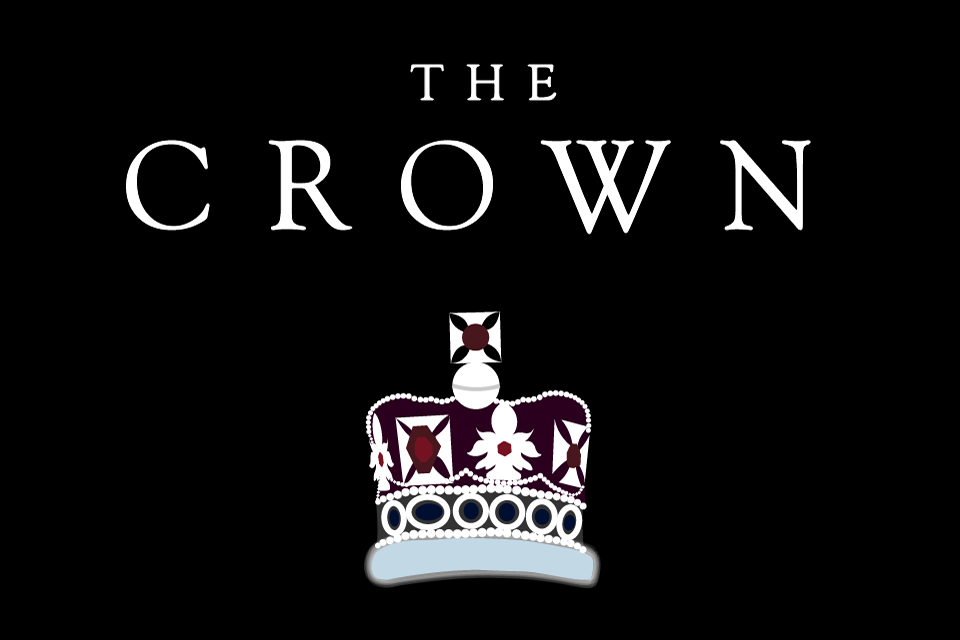 "Graphic of a crown with the caption ""The Crown"""