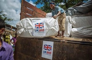 UK aid in Bangladesh.
