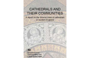 Cathedrals and their communities - cover of report