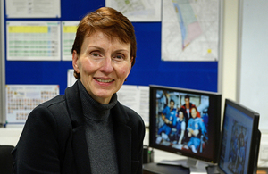 Portrait of Helen Sharman.
