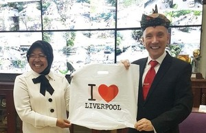 Vice Mayor of Liverpool visit to Surabaya, 27-28 Nov 2017