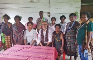 British Ambassador visit to Papua on November 2017
