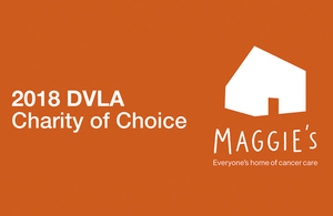 Maggie's Swansea is DVLA's Charity of Choice