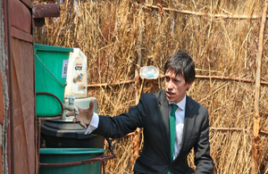 Minister for Africa Rory Stewart
