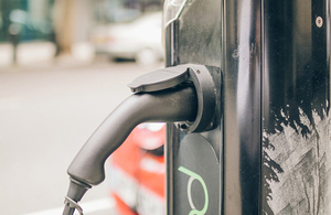 Electric charge-point