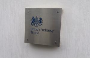 British Embassy Tirana