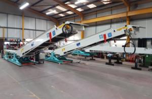 Newland Engineering warehouse floor