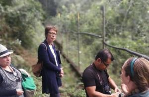 British Ambassador visited Peten's forests