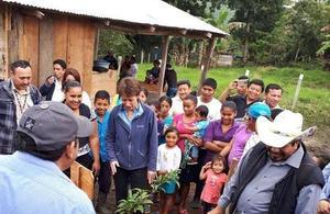 British Ambassador visited the Adjacency Zone between Guatemala and Belize