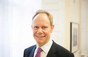 New DFID Permanent Secretary Matthew Rycroft.