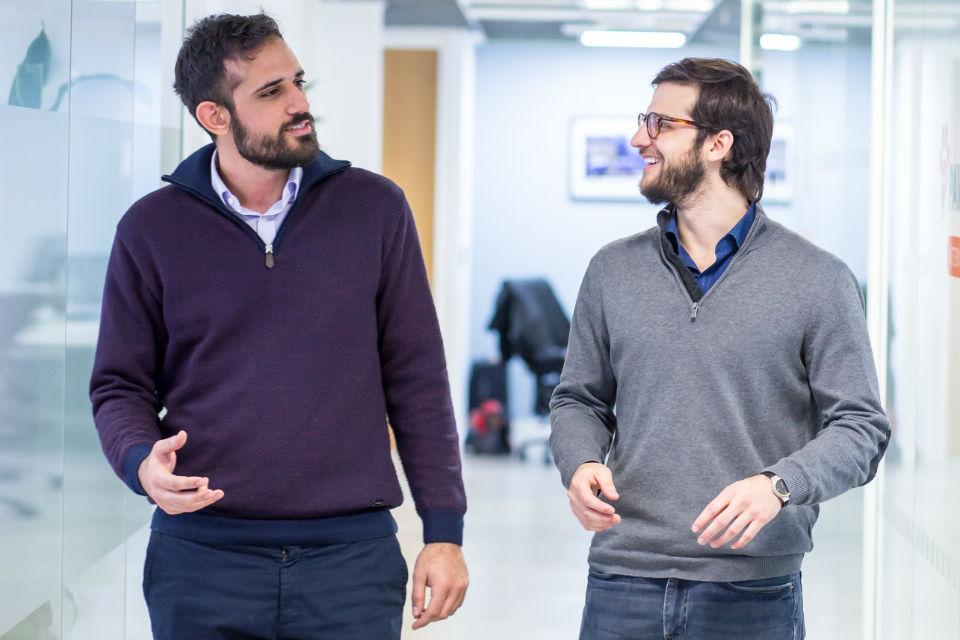 Neurofenix's Guillem Singla Buxarrais and Dimitris Athanasiou