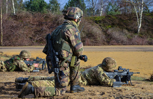 British and French marines taking part in Exercise Gaelic Venture [Picture: Crown copyright]