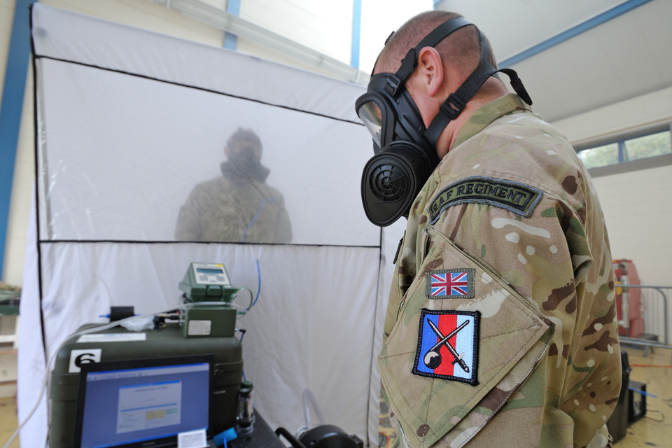 General Service Respirator fitting and testing. All rights reserved.