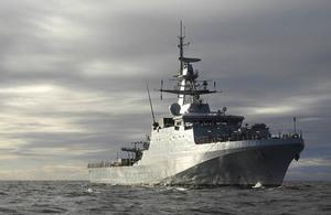 HMS Forth. Copyright.