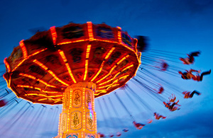 picture of a fairground ride
